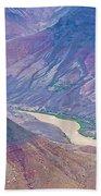 Colorado River At Cape Royal On North Rim Of Grand Canyon-arizona Beach Towel