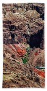 Colorado River In The Grand Canyon High Water Beach Towel