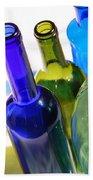 Colored Bottles Beach Towel