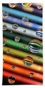 Colored Pencils Beach Sheet