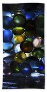 Colored Stones Of Light Beach Sheet