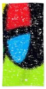 Colorful Abstract 5 Beach Towel