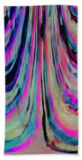 Colorful Abstract W Beach Towel