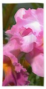Colorful Assorted Cattleya Orchids Beach Towel