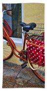 Colorful Bike Beach Towel