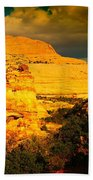 Colorful Capital Reef Beach Towel by Jeff Swan