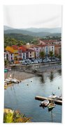 Colorful Collioure Beach Towel