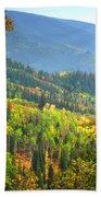 Colorful Colorado Beach Towel by Brian Harig