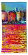 Colorful Coney Island Beach Towel