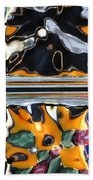 Colorful Contortion Beach Towel