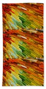 Colorful Extrude 2 Beach Towel