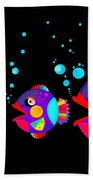 Colorful Fish Creation Beach Towel