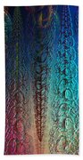 Colorful Garlands Beach Towel