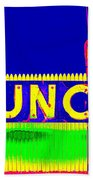 Colorful Lunch Beach Towel