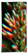 Colorful Plant Beach Towel