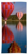 Colorful Reflection Beach Towel