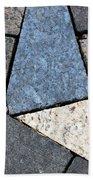 Colorful Rock Pavers Beach Towel
