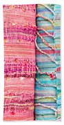 Colorful Scarves Beach Towel