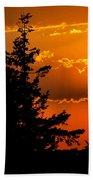 Colorful Sunset II Beach Towel