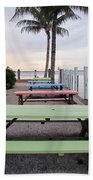 Colorful Tables Beach Towel