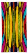 Colorful World Beach Towel