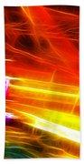 Colors Explosion Beach Towel