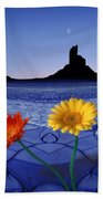 Colors In The Valley Beach Towel