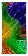 Colors Lines And Textures Beach Towel