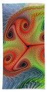 Colors Of Delight Beach Towel