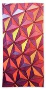Colors Of Epcot Beach Towel