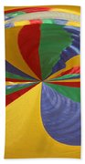 Colors Of Motion Beach Towel