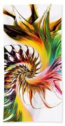 Colors Of Passion Beach Towel