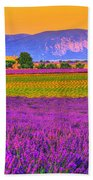 Colors Of Provence Beach Towel