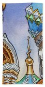 Colors Of Russia St Petersburg Cathedral II Beach Towel