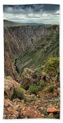 Colors Of The Black Canyon Beach Towel