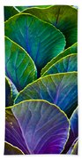 Colors Of The Cabbage Patch Beach Towel