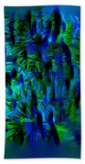 Colors Of The Night Beach Towel
