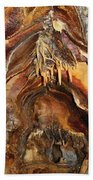 Colors Of The Ohio Caverns Beach Towel