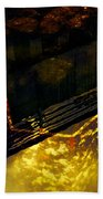 Colors Of The Sound Gold Beach Towel