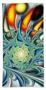 Colors Of The Spirit Beach Towel by Anastasiya Malakhova