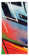 Colors On The Wall Beach Towel