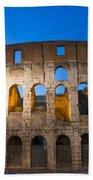 Colosseum  Beach Towel by Mats Silvan