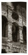Colosseum Wall Beach Towel
