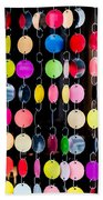 Colourful Circles Beach Towel