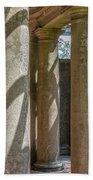 Columns At Cranes Beach Towel