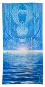 Come Away With Me Beach Towel