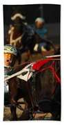 Horse Racing Come On Number 6 Beach Towel