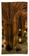 Commons Room Cathedral Of Learning University Of Pittsburgh Beach Towel