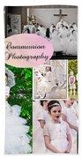Communion Photography Beach Towel