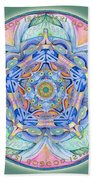 Compassion Mandala Beach Towel